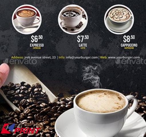 Các mẫu menu đẹp hiện đại cho nhà hàng quán cafe