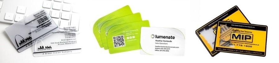 Các mẫu name card đẹp in trên giấy nhựa mờ
