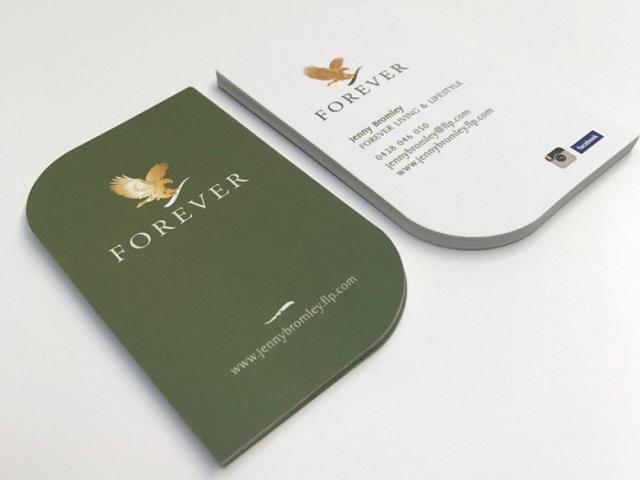 mẫu card visit đơn giản 3