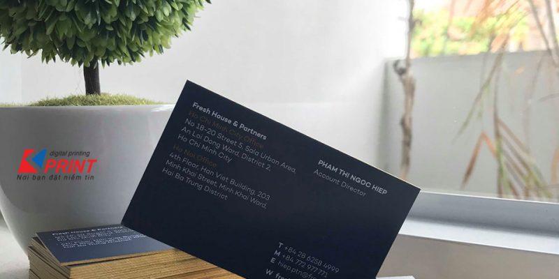 Name Card Bồi Dày