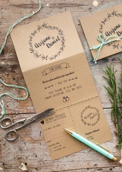 chất liệu giấy sang trọng cho thiệp mời