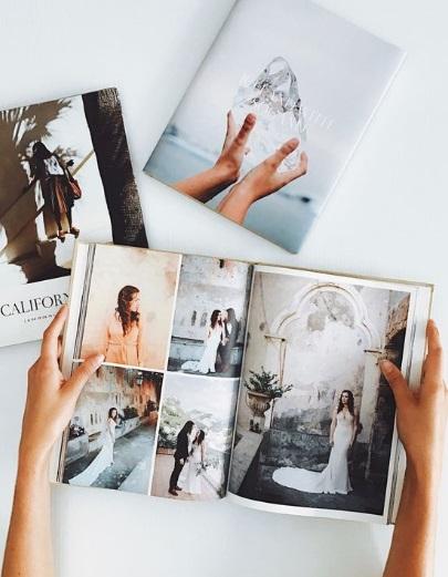 Bìa da cho photobook