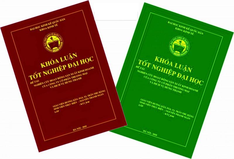 K-Print - Địa chỉ in đồ án tốt nghiệp giá rẻ